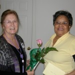 Linda Yoder and Charlene Marshall