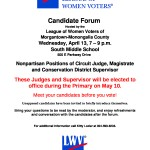 Nonpartisan Primary Candidate Forum April 13 2016