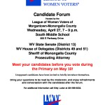 Partisan Primary Candidate Forum April 27 2016