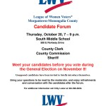 General Candidate Forum 2016 - County